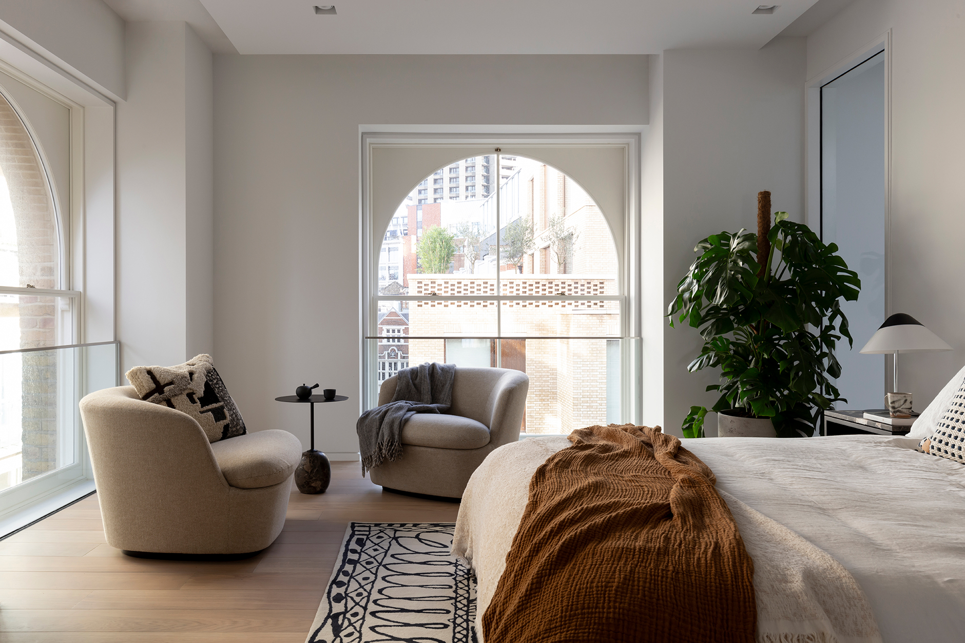 Interior Design Barts Square Hogarth House Bedroom
