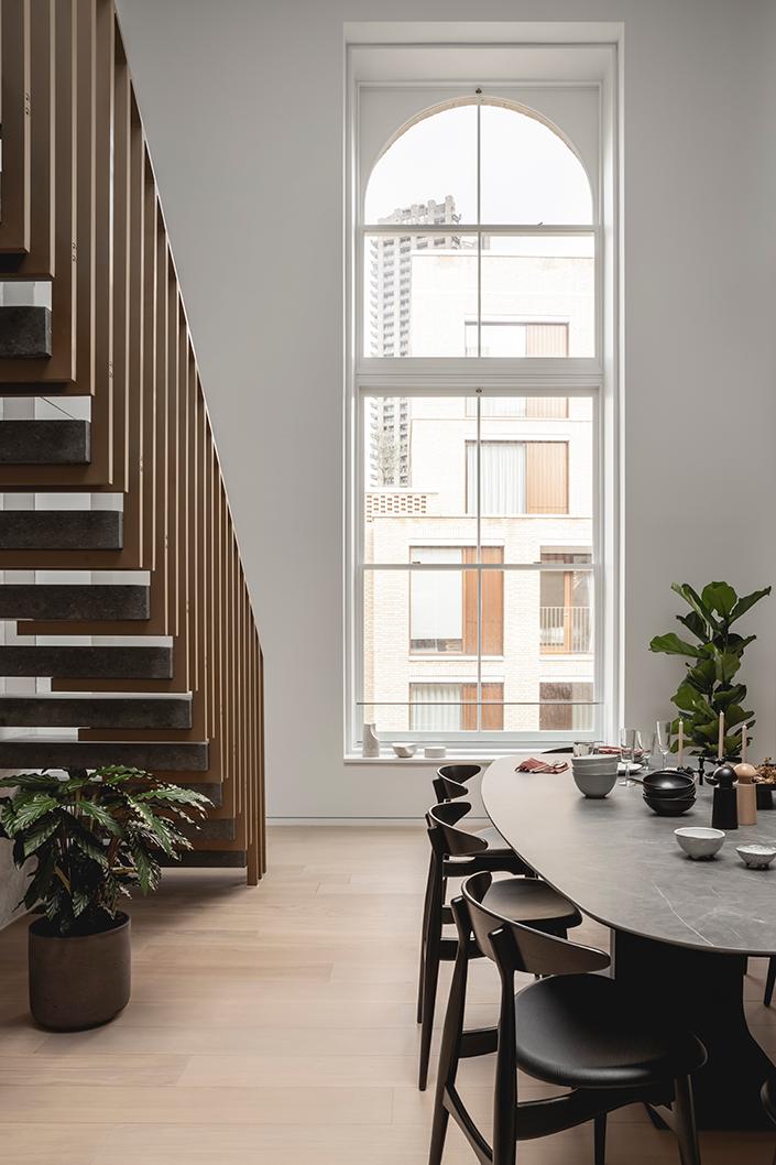 Interior Design Barts Square Hogarth House Dining