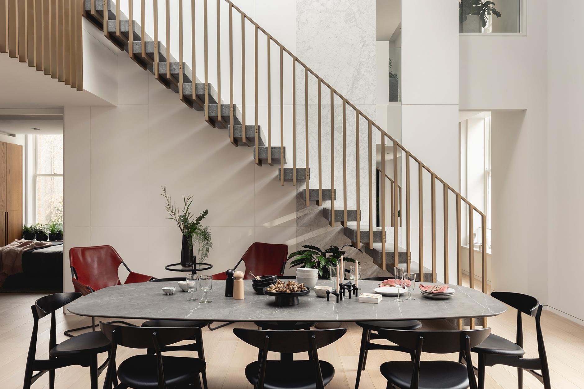 Interior Design Barts Square Hogarth House Dining Room